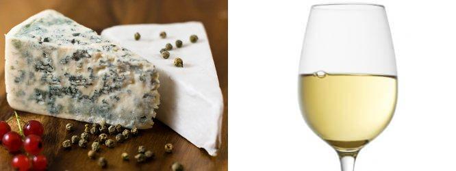 Roquefort; Sauternes